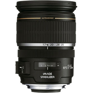 New Canon EF-S 17-55mm f/2.8 IS USM Lens