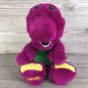VINTAGE 1992 Dakin Barney The Purple Dinosaur Soft Plush Hand Puppet 14""