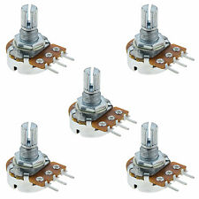 5 x 5K Log Logarithmischer Spline Potentiometer