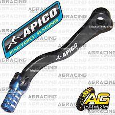 Apico schwarz blau gear pedal lever Schalthebel für KTM XC 300 2012 Motocross Enduro