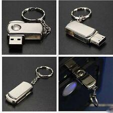 32GB Flash Memory Stick Pen Drive Stainless Swivel U Disk USB External Storage
