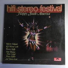 "33T HAPPY SOUTH AMERICA Disque LP 12"" RUMBA ROCK BRAZIL BANDA - POLYDOR 2418008"