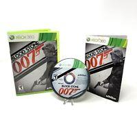 007: Blood Stone (Microsoft Xbox 360, 2010) CIB Complete in Box w/ Manual Tested