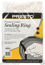 Presto Pressure Cooker Sealing Ring #9902 Auto Air Vent & Overpressure Plug NEW!