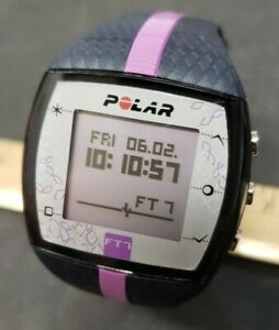Women's Polar Ft7 Heart Rate Monitor Capable Watch Purple New Battery
