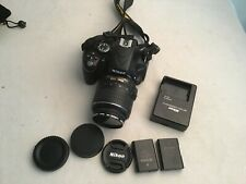Nikon D5100 DSLR Camera with 18-55mm VR Lens  low shutter # Bonuses