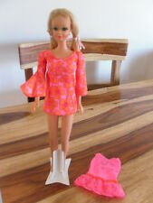 VTG PJ TNT 1118 Barbie Doll  PJ Dress Tag OSS talking pj dress