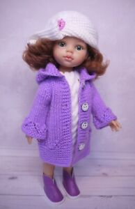 Dress, Coat, Hat, Boots for doll Paola Reina Little Darling 32-34cm handmade