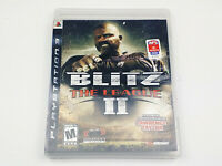 Mint Disc Playstation 3 Ps3 Blitz The League 2 II Free Postage