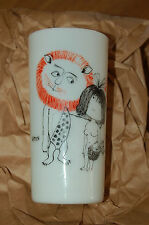 Cristal Vasos -porcelana Halgo París-astrología León