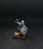 (BMA) PRO PAINTED VIKING WARRIOR- Brynjar- 28mm SAGA Dark Ages