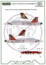 Model Maker Decals 1/72 SPANISH F/A-18A HORNET 30 YEARS ALA 15 NATO TIGER MEET