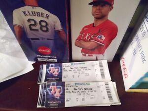 New York Yankees Corey kluber NO HITTER TICKET STUB 5/19