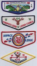 Witauchsoman Lodge 44 OA flap HS1/HS2/HF1/HX1 Historical set