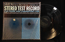 Hi Fi/Stereo Review Stereo Test Record Model 211-TEST RECORD