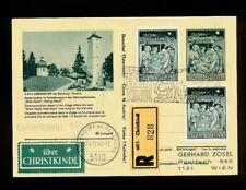 Reco-Christkindl-Bildpostkarte Oberndorf 24 12.1968 + LZ Oberndorf,  (CH16)
