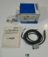 *NEW IN BOX* Omron TL-X1E1 Proximity Switch 10-40 VDC 200mA Barrel: M8 x 1.0