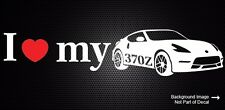 I Love Heart My Nissan 370z Decal Die Cut Nismo