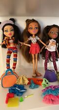 Mga Bratz Girl Dolls Lot Of 3 Dolls. 2015 With accessories