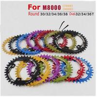 96BCD-S Narrow Wide Chainring 32T/34T/36T/38T MTB Bike Single Chain Ring M7000