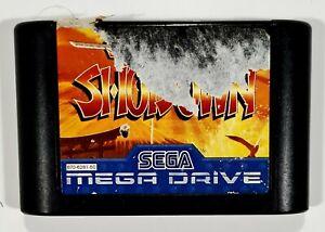 SEGA Mega Drive SAMURAI SHODOWN Cartridge PAL Weapon Beat'em Up/SNK/Neo Geo
