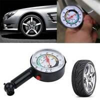 0-160PSI Car Truck Auto Motor Tyre Tire Air Pressure Gauge Dial Meter Tester