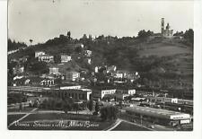 81473  vecchia cartolina  di vicenza STAZIONE FERROVIA E MONTE BERICO