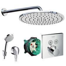 Hansgrohe Unterputz Duschsystem mit 300mm Kopfbrause, Shower Select Thermostat