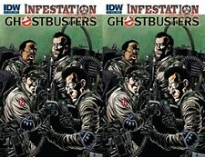 Infestation: Ghostbusters #1 (2011) IDW Comics - 2 Comics