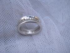 TIFFANY& CO. 925 1837 RING - CIRCA 1997 - GENUINE SOLID ITEM - EXC. 7.7GR. $6POS