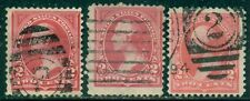 Scott # 250 Used, Fine, 3 Stamps, Great Price!