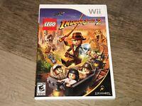 Lego Indiana Jones 2 The Adventure Continues Wii Nintendo Wii Complete CIB