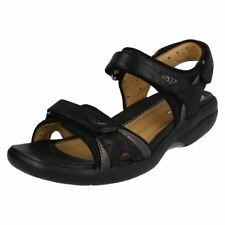 Clarks Faux Leather Casual Sandals for Women