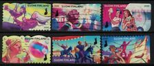 2020 Finland, Colours of friendship complete set postally used.