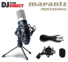 Marantz PRO MPM-1000 Studio Recording Condenser Microphone + Tripod Mount Stand