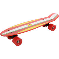 Official Ferrari Retro Cruiser Skateboard Skater Skating Complete Deck Board 22""