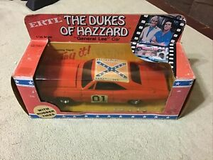 1981 Ertl DUKES OF HAZZARD GENERAL LEE 1969 Dodge Charger 1/24 Die Cast In Box