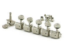 Kluson Vintage 6 in line Lefty Single Line tuners fits Fender 8.8mm SD9105MNR