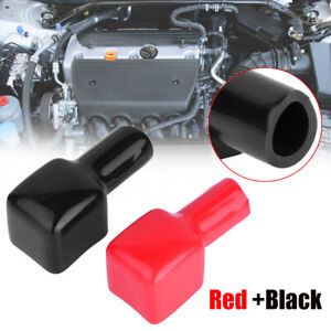 2x Car Battery Terminal Cover Protector Positive + Negative OEM 192681 192682