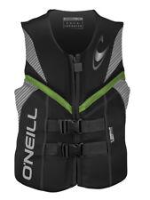 O'Neill Mens Reactor Life Vest: US Coast Guard Approved Neoprene Lifejacket
