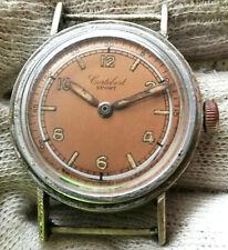 """CORTEBERT SPORT CAL.649   1940""""S  SWISS MADE Military Mechanical WRIST Watch"""