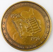 1776-1976 Protecting our Heritage of Freedom Adak Alaska Medal