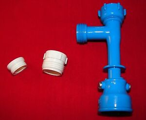 Blue Magic Waterbed Drain Super Pump & Faucet Adapter (aka Venturi Pump)