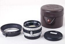 Ex+ Canon 35mm f/1.5 LTM Leica L39 Mount w/ W-50 Lens Hood