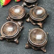 1pcs-Black branch wood crystal ball base Qishi Decoration solid wood base
