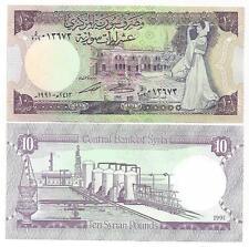 SYRIEN SYRIA 10 POUNDS 1991 UNC P 101