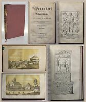 Palme Warnsdorf historischen Denkwürdigkeiten EA 1852 Nordböhmen Ortskunde xz