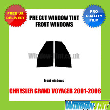 CHRYSLER GRAND VOYAGER 2001-2008 FRONT PRE CUT WINDOW TINT