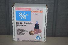 "Cash Acme EB-45U 3/4"" Water Pressure Reducing Valve Regulator 23883-0045"