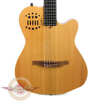 Brand New Godin Multiac ACS-SA Nylon String Acoustic-Electric Natural B Stock